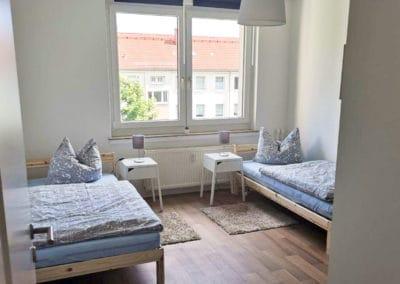 Monteurzimmer Chemnitz Schlafzimmer 2