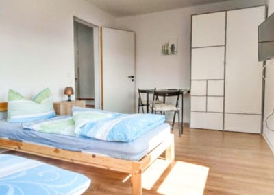 Monteurzimmer Dresden Schlafzimmer 2