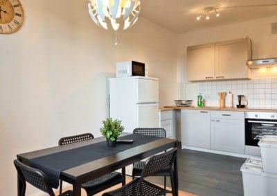 Monteurzimmer Halle Küche