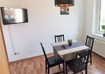 Monteurzimmer Leipzig Gemeinschaftsraum