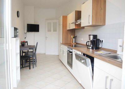 Monteurzimmer Plauen Küche