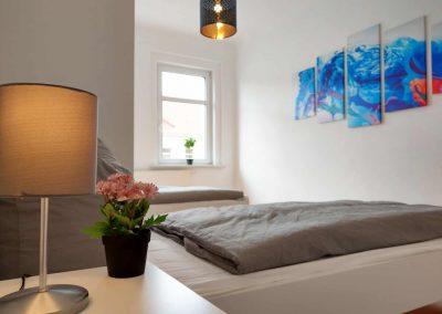 Monteurzimmer Rostock Schlafzimmer 2