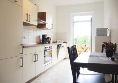 Monteurzimmer Leipzig Küche